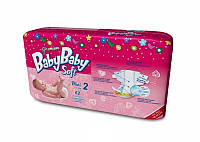 Подгузники BABYBABY SOFT Premium 2 Mini 3-6 кг (62 шт)