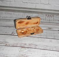 Свадебная шкатулка (коробочка) для колец и украшений