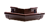 Угол наружный Z 135 PROFIL, ПВХ, 130/100 мм, коричневый