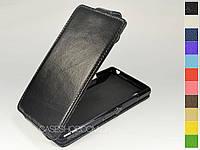 Откидной чехол из натуральной кожи для Sony Xperia Z1 (l39h)