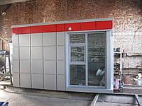 Строительство зданий из композитных кассет