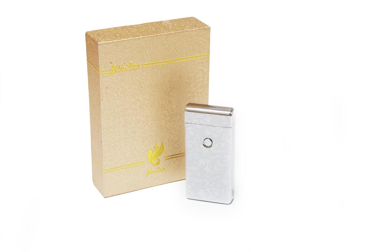 """USB электрическая зажигалка импульсная дуга M2 Silver - Оптово-розничный интернет-магазин """"NicePrice"""" в Львове"""