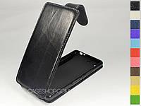 Откидной чехол из натуральной кожи для Sony Xperia M5 Dual E5633