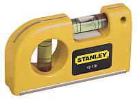 Маленький карманный магнитный уровень Stanley 87 мм