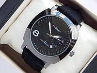 Мужские (женские) кварцевые наручные часы Curren GMT Chronometer с датой