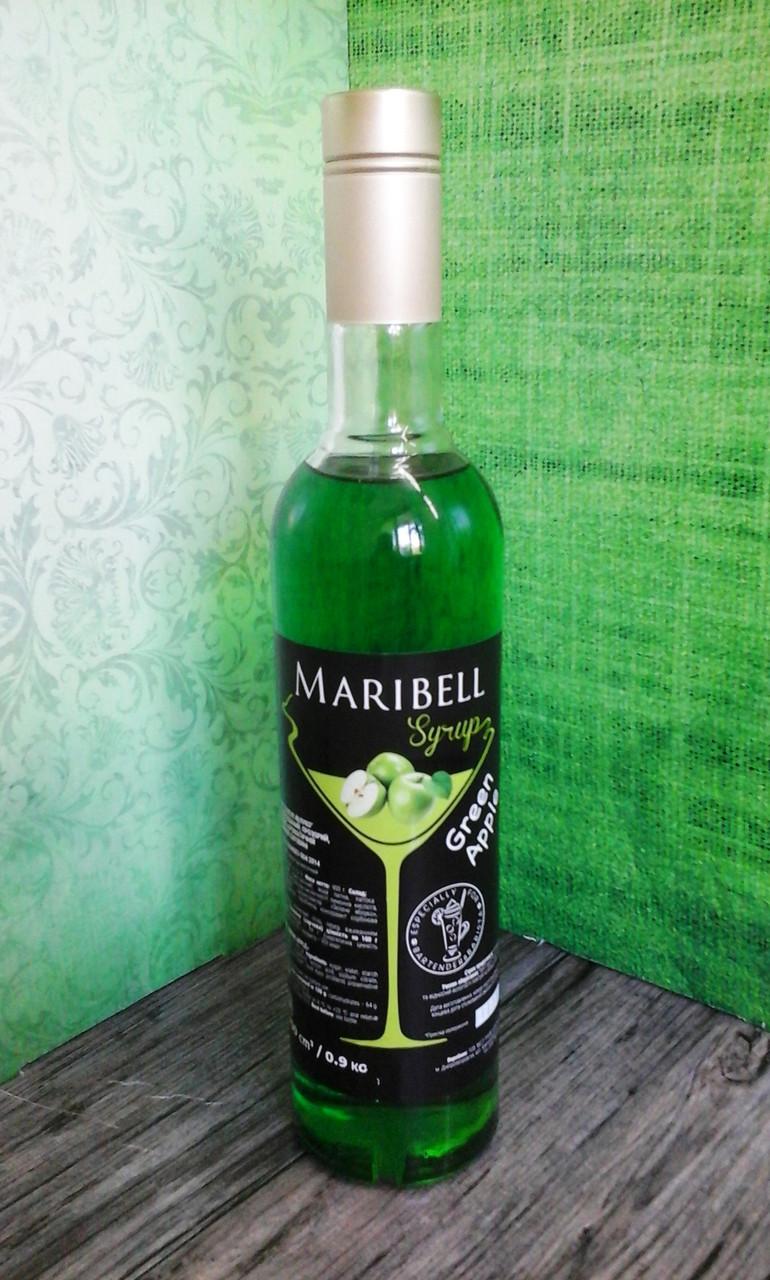 Сироп «Maribell» Зеленое яблоко