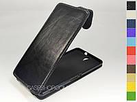 Откидной чехол из натуральной кожи для Sony Xperia C5 Dual E5533