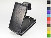 Откидной чехол из натуральной кожи для Sony Xperia E1 Dual D2105