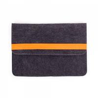 Чехол для ноутбука Digital Wool Case 13 (DW 13-01) с оранж.резинкой
