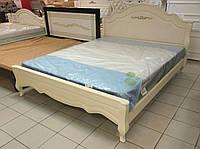 """Кровать двуспальная """"Прованс"""" из массива ольхи"""
