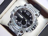 Спортивные наручные часы Casio G-SHOCK цвета хаки в серых тонах