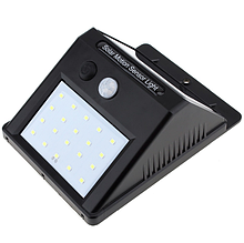 Светильник уличный 20 LED 4 W на солнечной батарее с датчиком движения