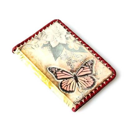 Обложка на паспорт из кожи Кажан (5354)