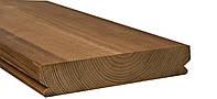 Террасная доска, термососна, гладкая, с пазом под клипсу 26х140 , фото 1