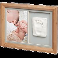 Набор для создания отпечатка ручки или ножки малыша Baby Art Настенная рамка, фото 1