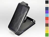 Откидной чехол из натуральной кожи для Sony Xperia SX (mt28i)