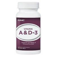 GNC Vitamin A and D-3 100caps (GNC)