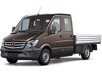 Фаркоп на автомобиль MERCEDES SPRINTER L=3665/4350 бампер с подножкой бортовой грузовик 04/2006-