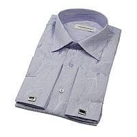 Приталенные рубашки с длинным рукавом размер L