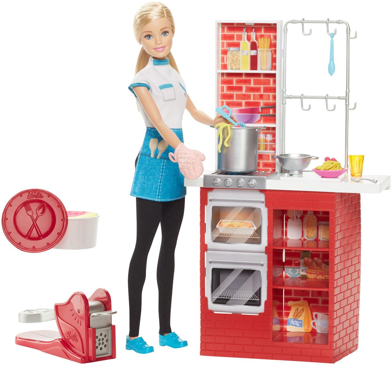 Барби Приготовление спагетти