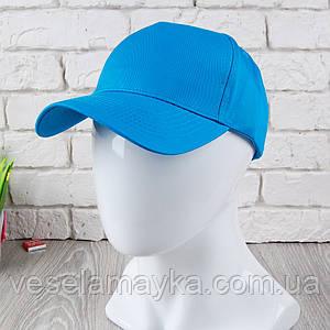 Кепка на липучці блакитного кольору (Преміум)
