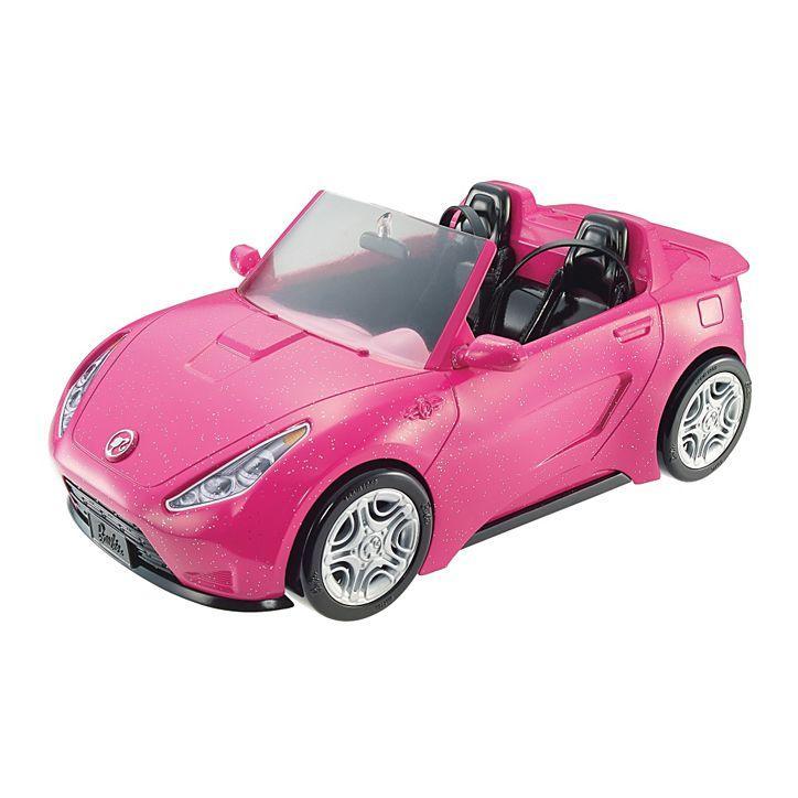 Блестящий гламурный кабриолет Barbie Glam Convertible DVX59