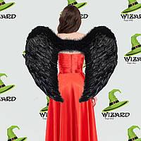 Крылья Ангела Супергигант (80х95см) черные