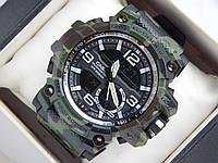 Спортивные наручные часы Casio G-SHOCK цвета хаки в зеленых тонах, фото 1
