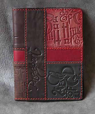 Обложка на паспорт кожаная Guk (4507)