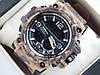 Спортивные мужские наручные часы Casio G-SHOCK цвета хаки в светло-коричневых тонах