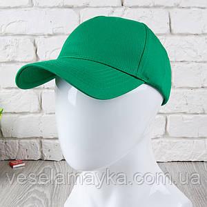 Зелена кепка на липучці (Преміум)