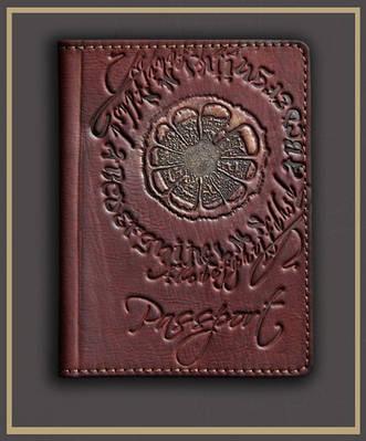 Обложка на паспорт кожаная Guk (4007)