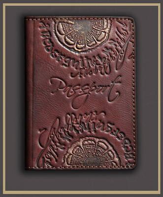 Обложка на паспорт кожаная Guk (3807)