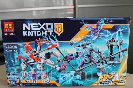 "Конструктор аналог Lego Нексо найтс ""NEXO KNIGHTS"" №10594 Ланс против Монстра-молнии"