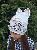 Детская шапочка для девочки - D1722