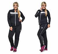 Женский спортивный костюм Адидас батал размеры 48-54