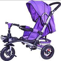 Велосипед-коляска TR20101, Аналог crosser T350 фиолетовый