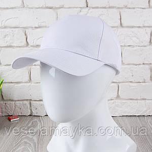 Біла кепка на липучці (Преміум)