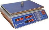 Весы торговые Днепровес ВТД-ЕЛ1 (F902H-15EL1)