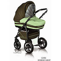 Детская коляска универсальная 2 в 1 Trans baby Mars 12/Q1
