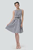 Красивое летнее платье приталенного силуэта без рукавов