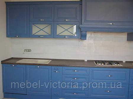 Кухня классика крашеные фасады