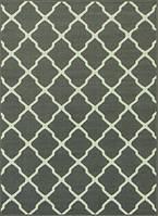 Ковер серый Клевер 2 х 3 м