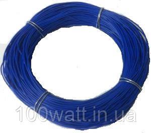 Провод термостойкий БПВЛ 1,5 мм синий ST374-1,5
