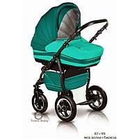 Детская коляска универсальная 2 в 1 Trans baby Mars 87/99