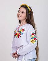 Вышитая блуза для девочки