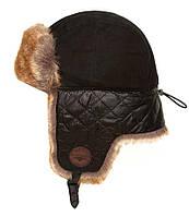 Зимняя шапка Top Gun Checkered Winter Hat (черная)