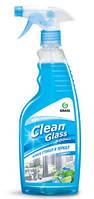 """Очиститель стекол """"Clean Glass"""" блеск стекол и зеркал (голубая лагуна), фото 1"""
