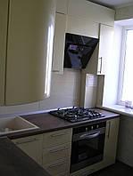 Кухня на заказ МДФ жемчуг