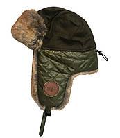 Оригинальная зимняя шапка Top Gun Checkered Winter Hat TGH1502 (Olive)